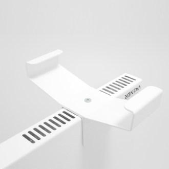 Montage Standfuß Hybrid-Infrarotheizung