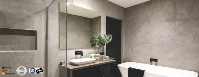 Spiegelheizung Bad