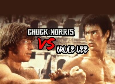 Chuck Norris vs Bruce Lee