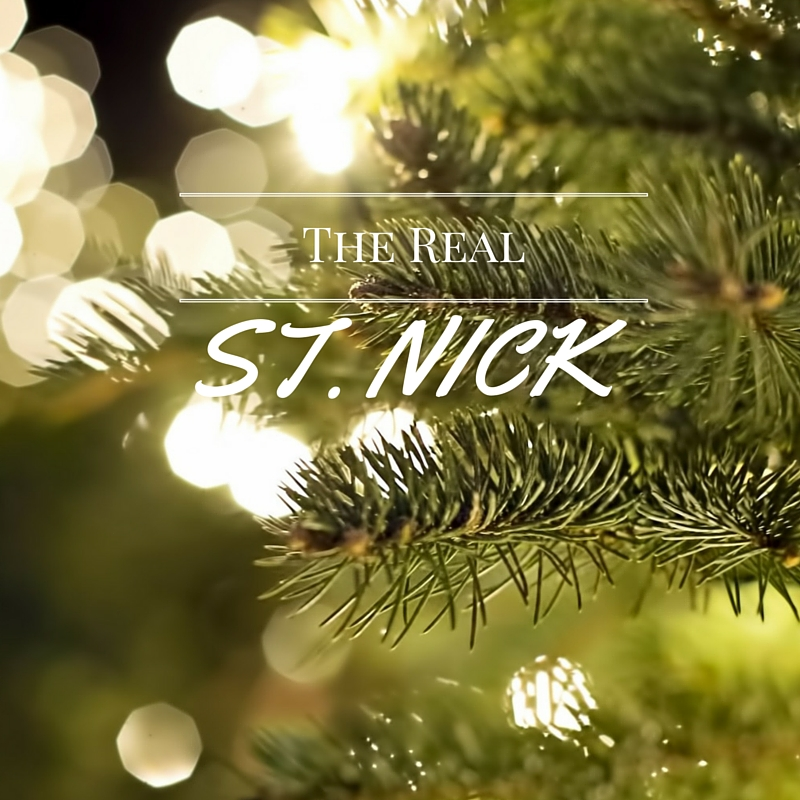 The Real St. Nick: Stories about the real MAN IN RED