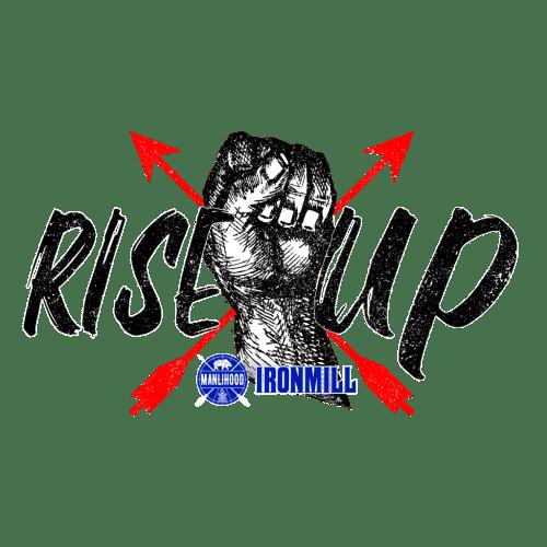 RiseXUp Logo Black