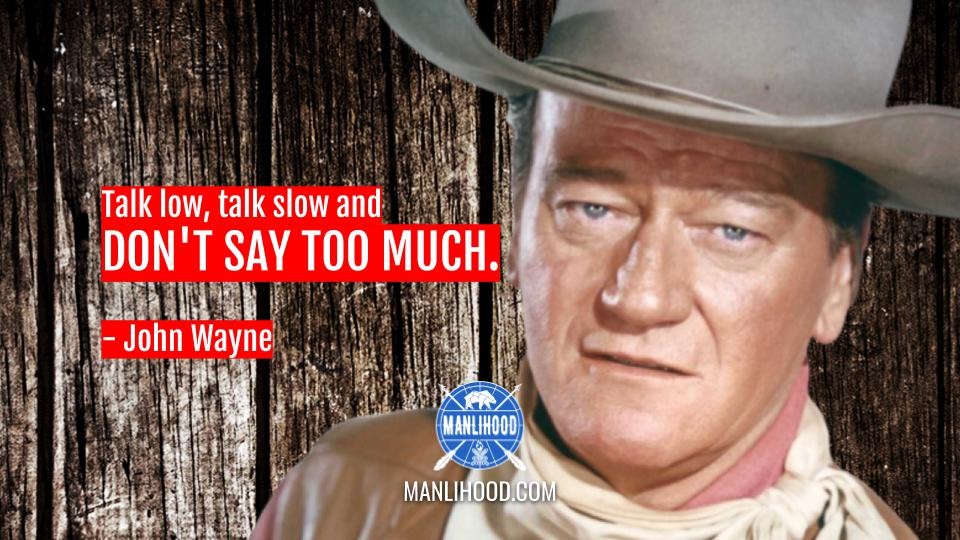 John Wayne quotes wallpaper manlihood man crush monday