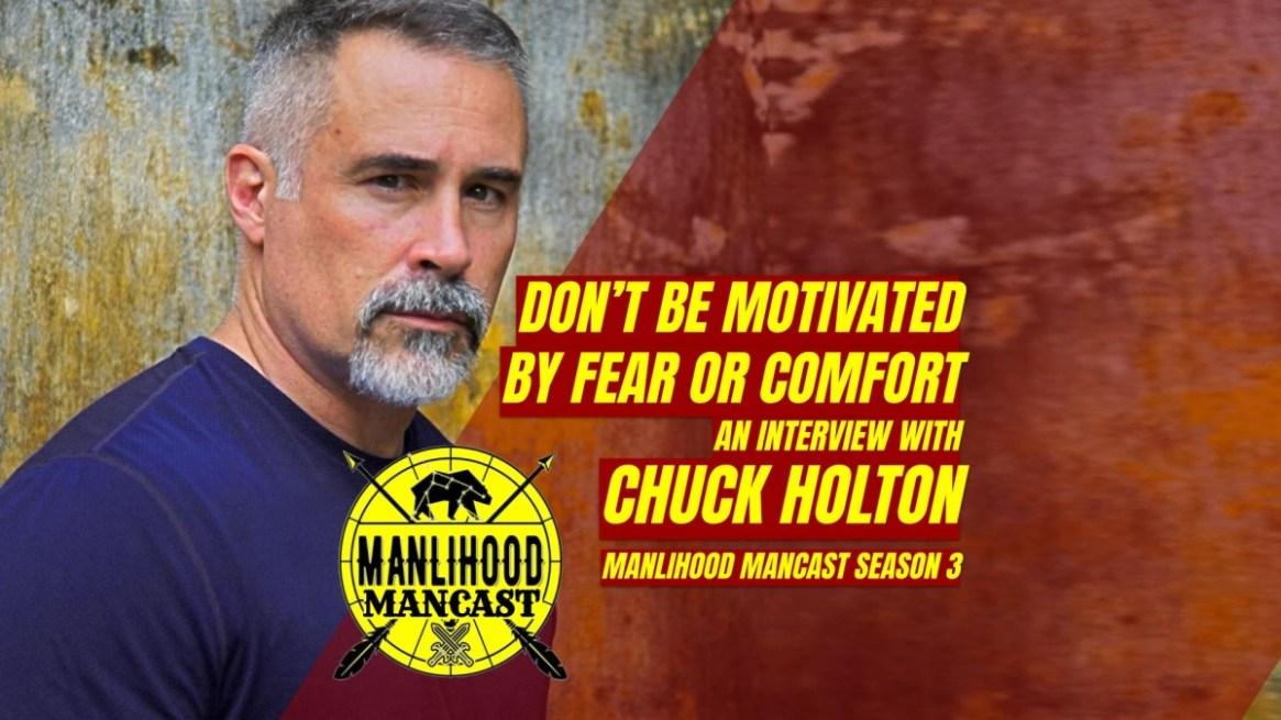 Chuck Holton, Author Making Men