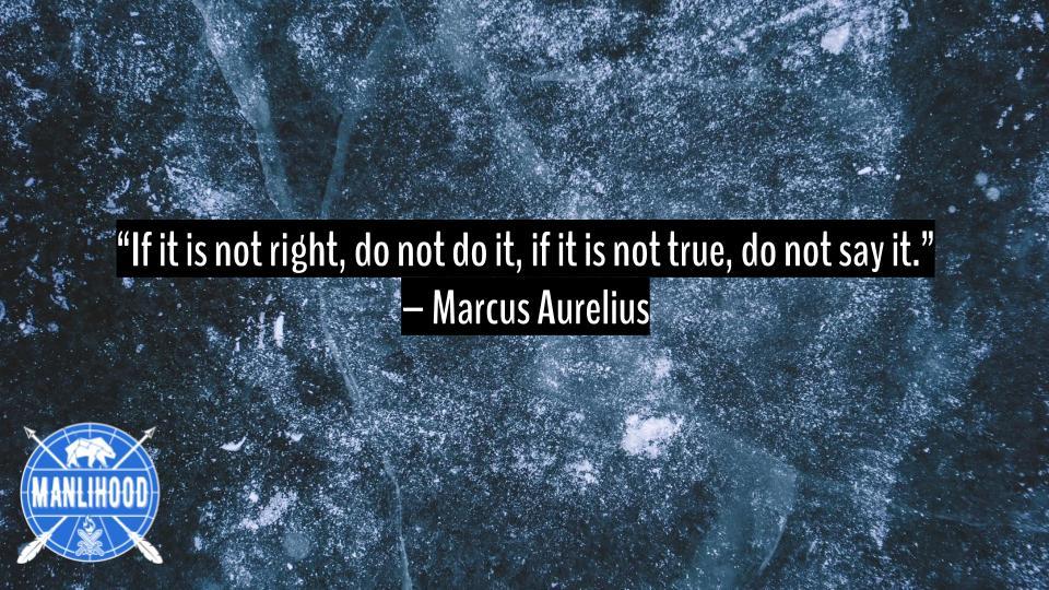 Marcus Aurelius Stoic Quotes - Podcast for Men