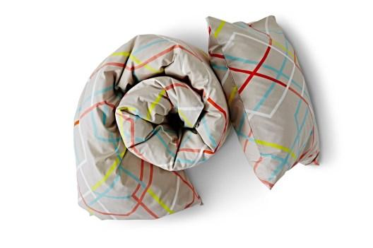 Peitto- ja tyynymallisto on kehitetty asiakaslähtöisesti helpottamaan sopivan peiton ja tyynyn valitsemista.