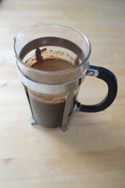 Pressopannu on kätevin tapa valmistaa cold brew -kahvia.