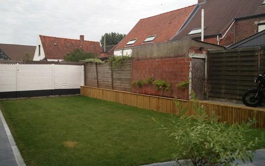 Garden remodeling