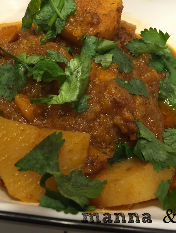 curried beef autumn stew