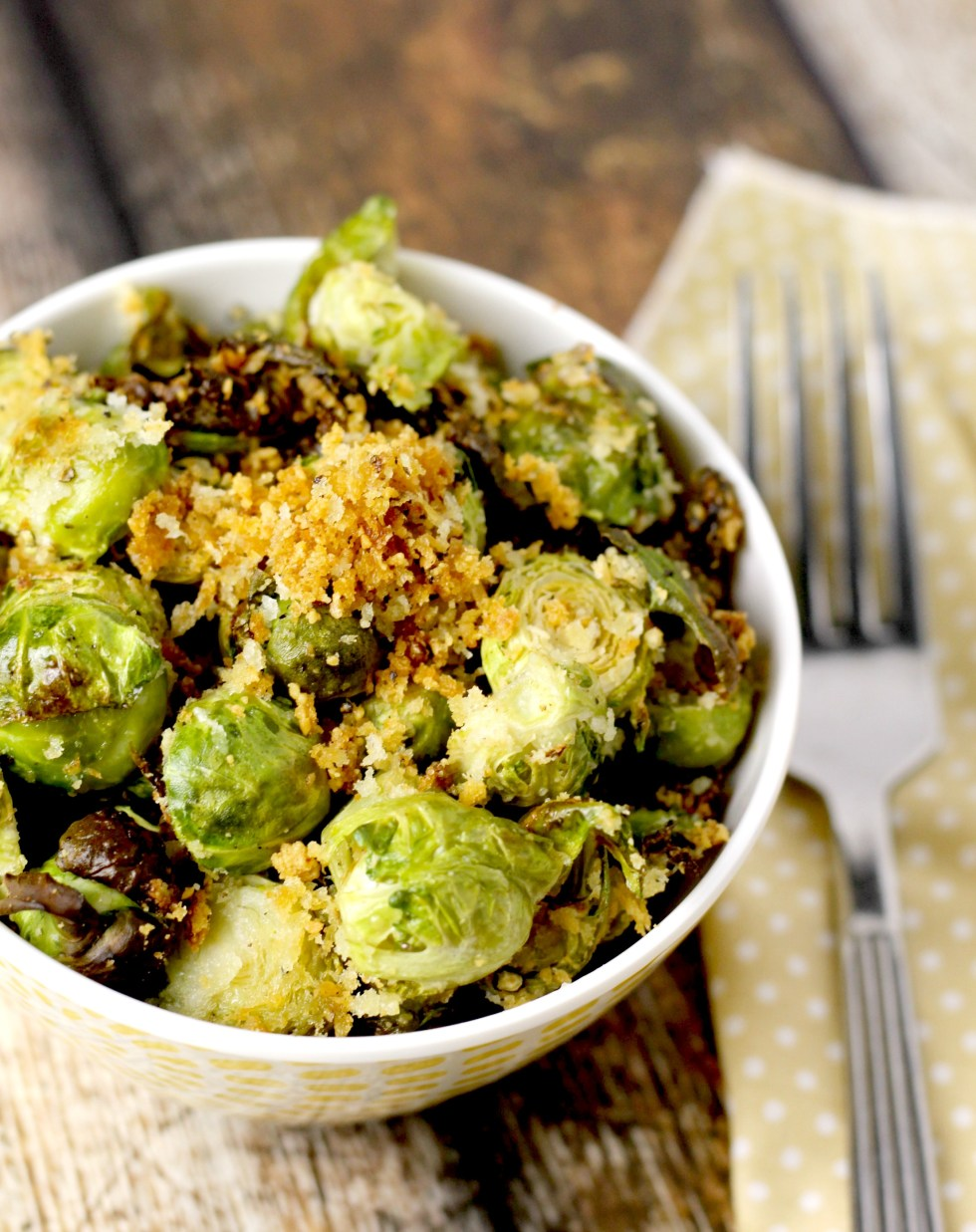 parmesan and panko brussels sprouts 9