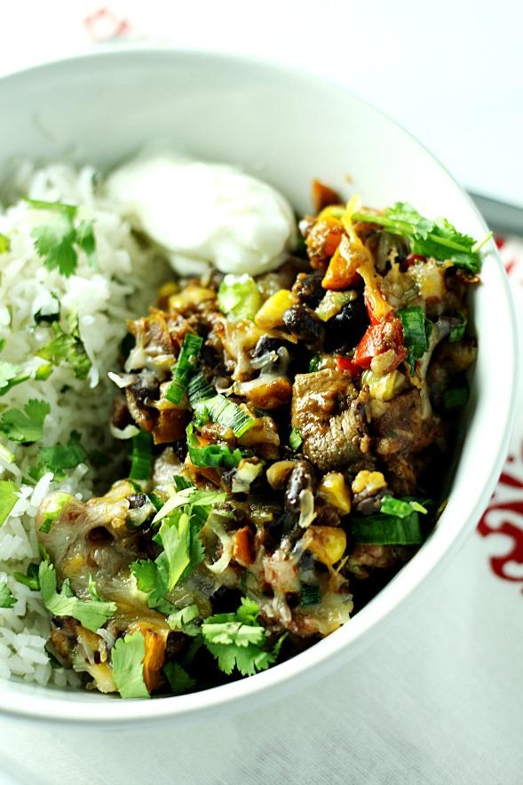 20 Minute Southwest Chicken Skillet2www.mannaandspice.com