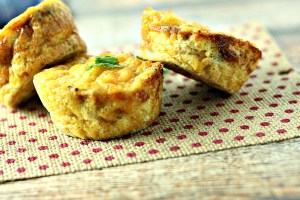 Mini Vegetable Frittatas|www.mannaandspice.com