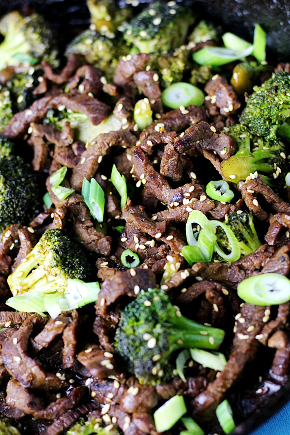 Better Than Takeout Beef & Broccoli|www.mannaandspice.com