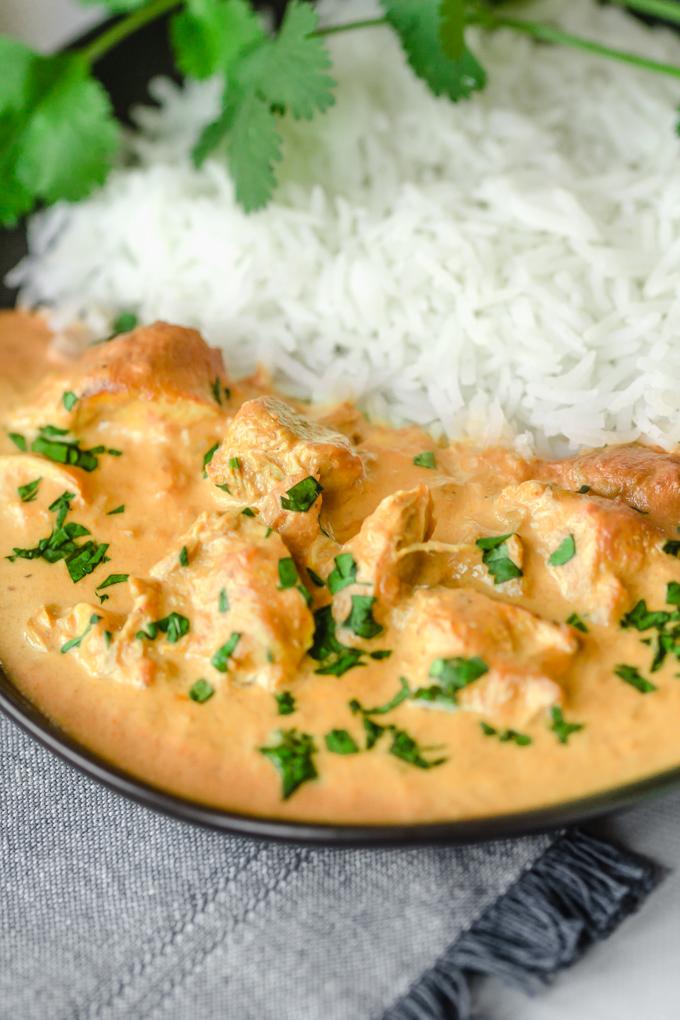 Shortcut Instant Pot Indian Butter Chicken  Manna & Spice