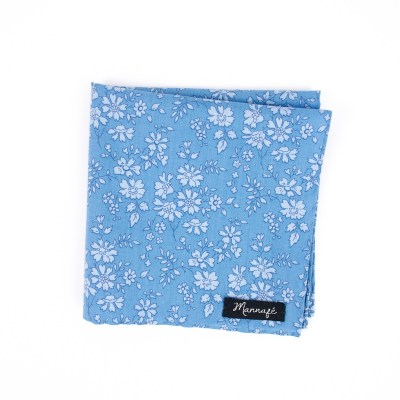 Pochette de costume Liberty Capel blue