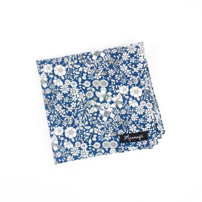Pochette de costume Liberty June's meadow navy