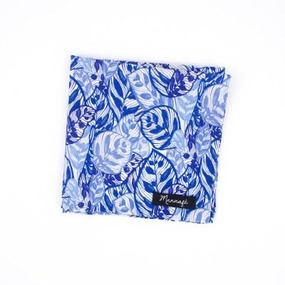 Pochette de costume Liberty Jungle blue