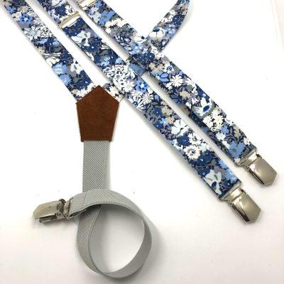 Bretelles Liberty Thorpe bleu
