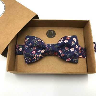Noeud papillon – Liberty Donna leigh indigo