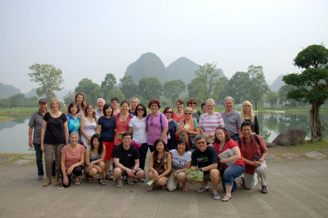 Group Shot Day 1 Guilin