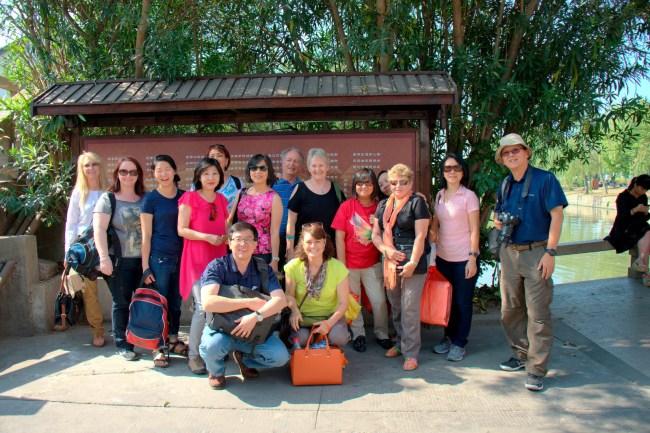 Zhujiajao Ancient town Group Shot