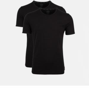 Calvin Klein heren 2-pack T-shirts ronde hals - zwart