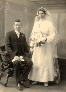 Warwick & Bessie Calvin c1920