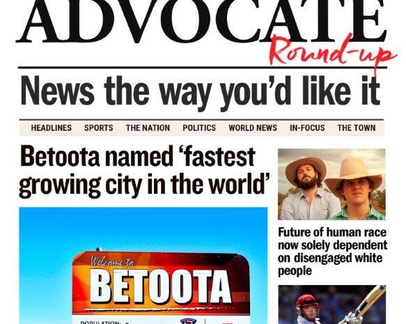 Book Review: The Betoota Advocate Round Up