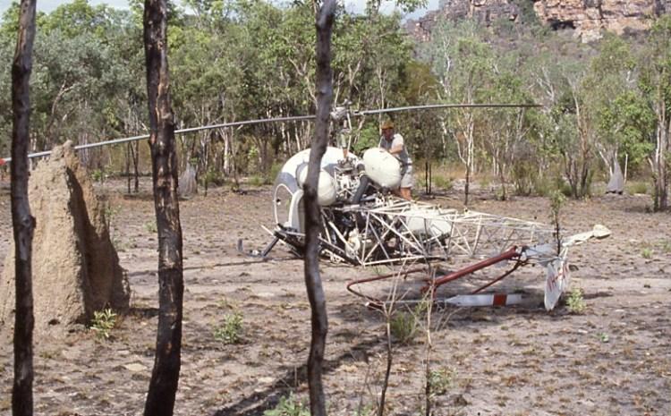 CHOPPER CRASH IN ARNHEM LAND . . .