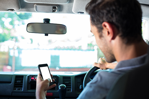 MOBILE PHONES AND YOUR LICENSE