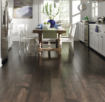 Maison Collection  Elegant Hardwood Floors   Mannington Flooring     smooth graining with subtle hand worked edges and accentuation of the  natural character  This majestic hardwood floor is sure to enrich any space