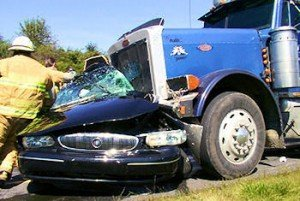 nh truck accident attorneys Semi-Truck Colliding With Car