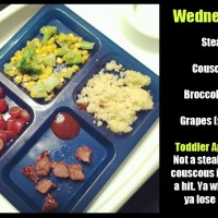 Toddler Dinners: No Soup For You