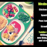 Toddler Dinners: The Distraction Phase