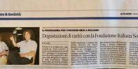 Degustazione storica Mannucci Droandi a Bolzano con Fondazione italiana Sommelier