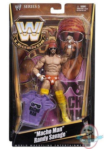 WWE Legends Series 5 Macho Man Randy Savage By Mattel