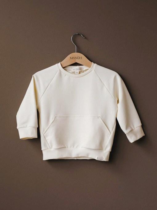 sweater cream manoh