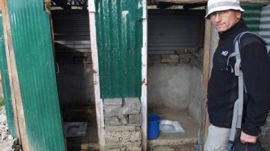 Toilettes reconstruites