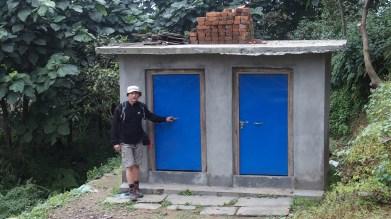 Toilettes construites à Gyachchok