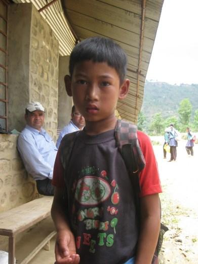 Bal Kumar Thapa Magar 12 ans (Claudication)
