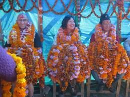 Un accueil très chaleureux à la népalaise !
