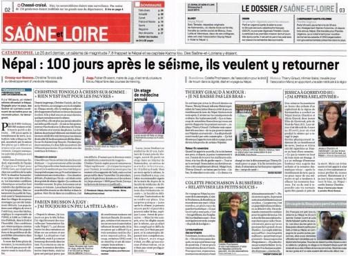 Mai 2016 - JSL (Journal de Saône et Loire)