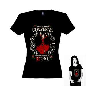 Camiseta La Flamenca para mujer