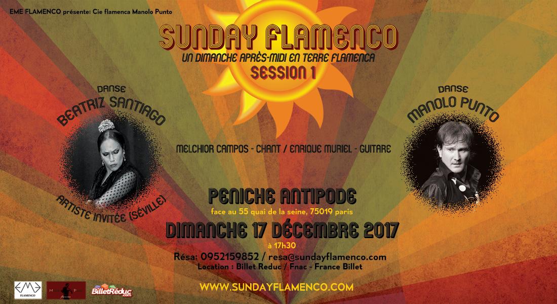 sunday flamenco paris