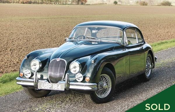 1958 Jaguar XK150 Coupe