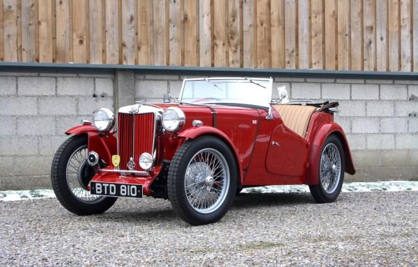 1936 MG TA **SOLD**