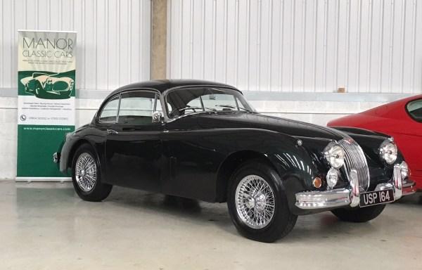 1958 Jaguar XK150 Fixedhead Coupe