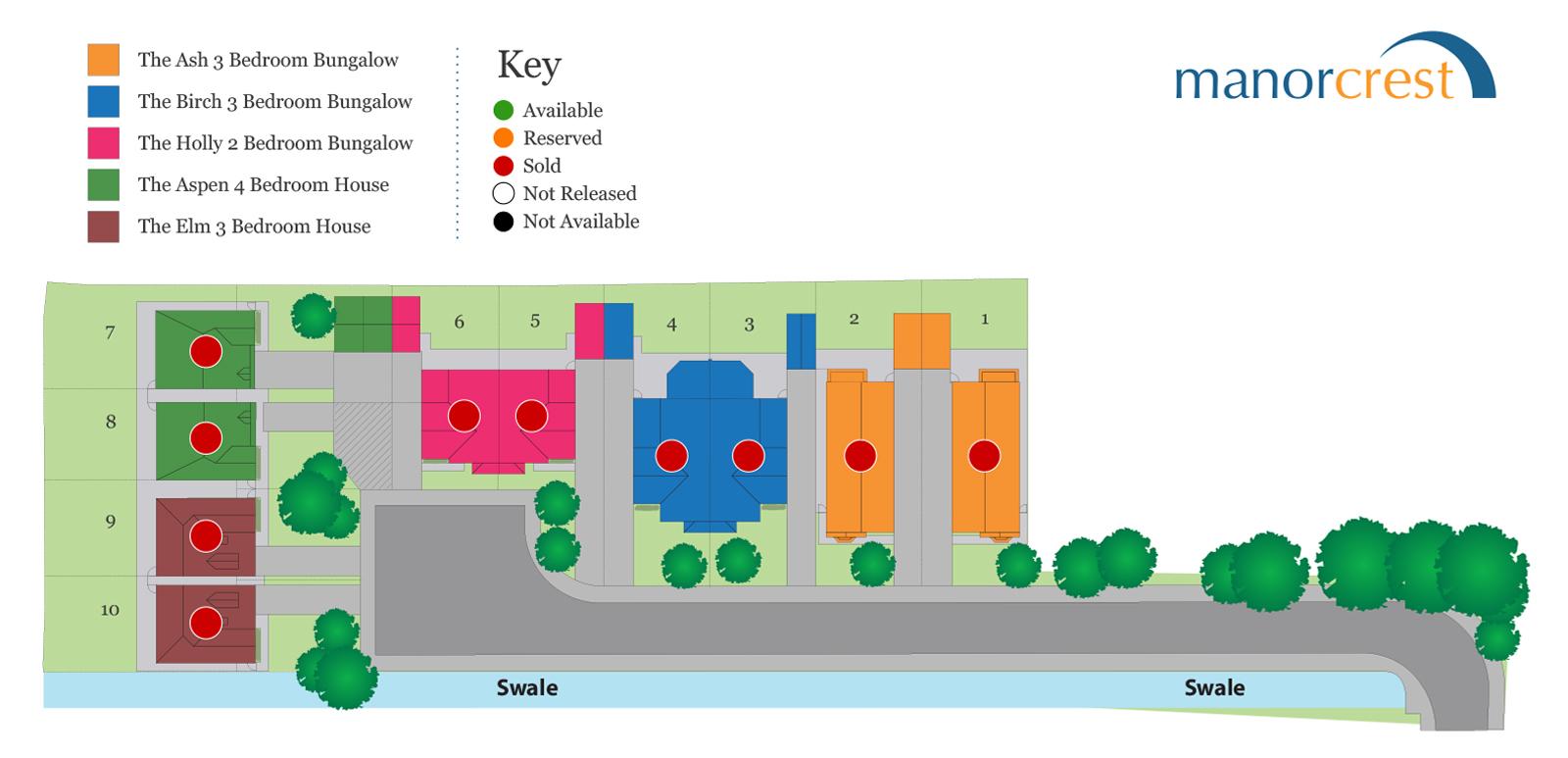 Woodhall Spa Site Plan