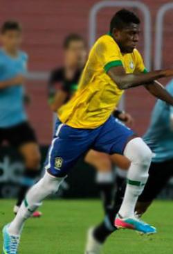 Abner - Brasil U'17 Foto: scoutworldhd.blogspot.com
