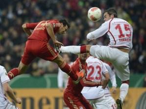 Bayern y K'lautern ya se enfrentaron el año pasado en la Pokal | Foto: Caught Offside