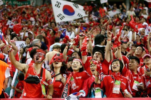Corea del Sur ya es una constante en las fases finales del Mundial. Foto: meetthelocal.com